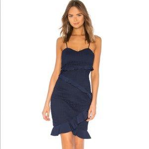 NWT Bardōt Fae Lace Dress Deep Navy size 6